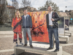 Menschenbilderausstellung am 7.04.2018 copyright by Foto Fischer, Herrengasse 7 ( Altstadtpassage ),  8010 Graz, Tel.: 0043/ 316/ 82 53 22,  Fax DW4,e-mail : <studio/>