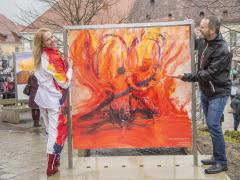 Eroeffung Menschenbilder 17.03.2018  copyright by Foto Fischer, Herrengasse 7 ( Altstadtpassage ),  8010 Graz, Tel.: 0043/ 316/ 82 53 22,  Fax DW4,e-mail : <studio/>