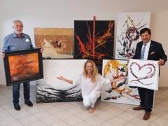"""Sabine Schilcher-Asen spendet 7 Werke für die Online-Auktion """"Lionarte"""""""