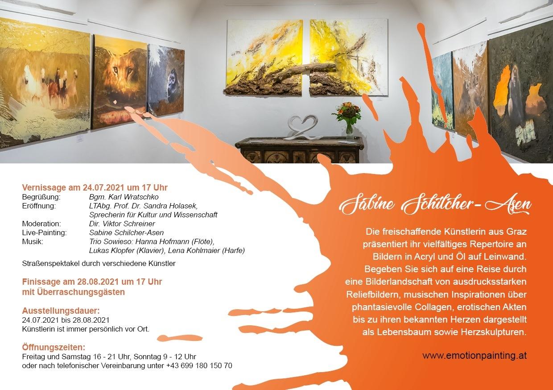 Einladung zur Ausstellung 2